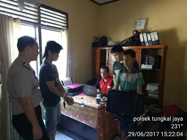 Pembobol Rumah Kosong Di Tungkal Jaya Ditangkap, Satu DPO