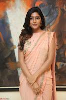 Eesha Rebba in beautiful peach saree at Darshakudu pre release ~  Exclusive Celebrities Galleries 025.JPG