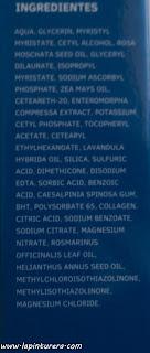 ingredientes crema de noche