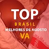 Vários Artistas - Top 15 Brasil - Melhores de Agosto