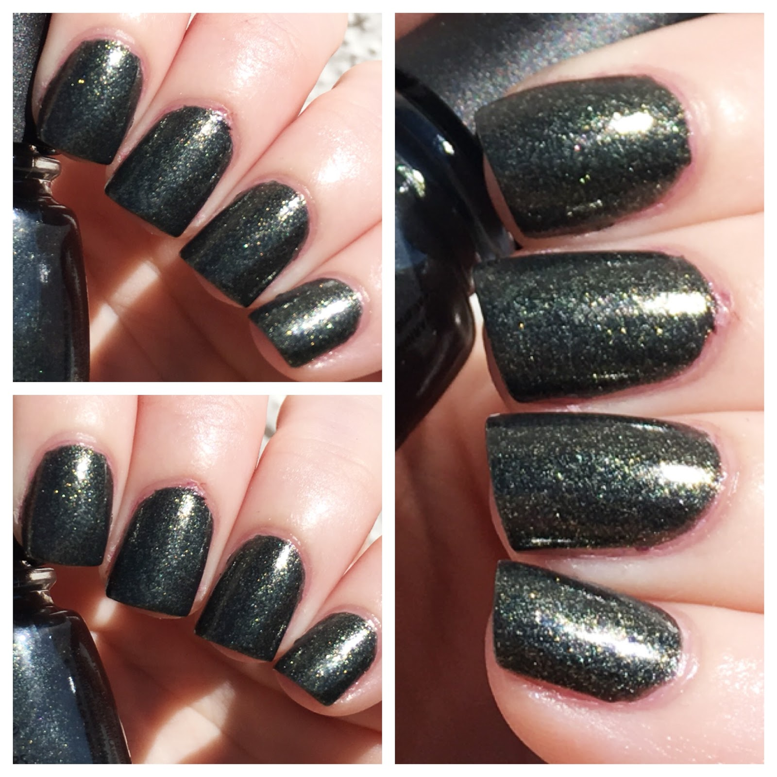 Cat eyes skinny jeans notd china glaze nail polish in lifes grimm two coats of china glaze nail polish in lifes grimm deep green with gold green shimmer nvjuhfo Gallery