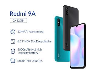 MIUI ROMs Stable For Redmi 9A (Dandelion)