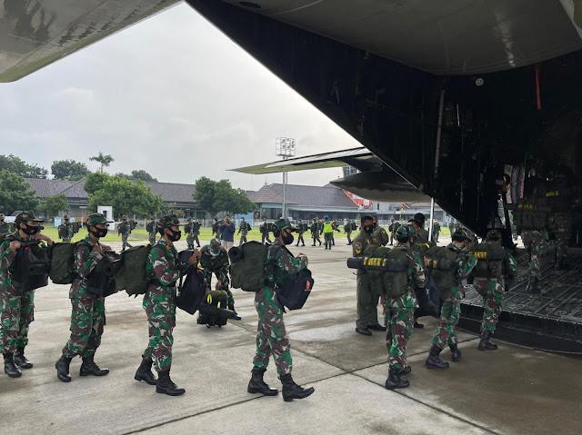 TNI Kirim Penambahan 176 personel Nakes Ke Wisma Atlet Kemayoran