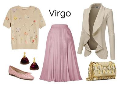 Gaya pakaian zodiak Virgo
