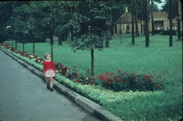 Июнь 1962 года. Рига. Межапарк. Возле Рижского зоопарка