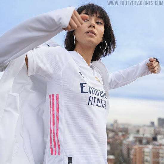 Real Madrid 20 21 Home Away Kits Released Footy Headlines