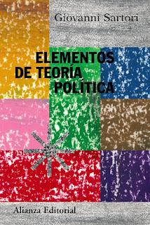 Elementos de teoría política / Giovanni Sartori