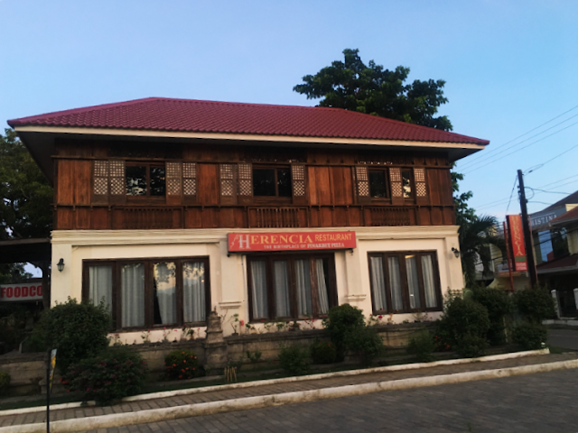 Herencia Cafe home to the ever famous Pinakbet Pizza in Ilocos Norte