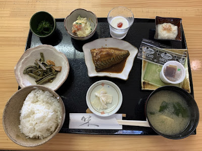 野中温泉の朝食