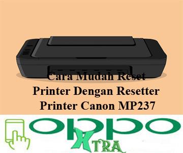 Resetter Printer Canon MP237