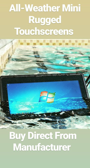 "Ruggedized 7"",8"",9"",10"",12"",15"",18"",24"" LCD Touchscreen Solutions Manufactured By Xenarc Technologies https://www.xenarc.com"