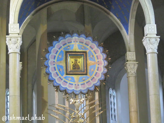 Icon of Our Mother of Perpetual Help in Baclaran Church in Pasay City