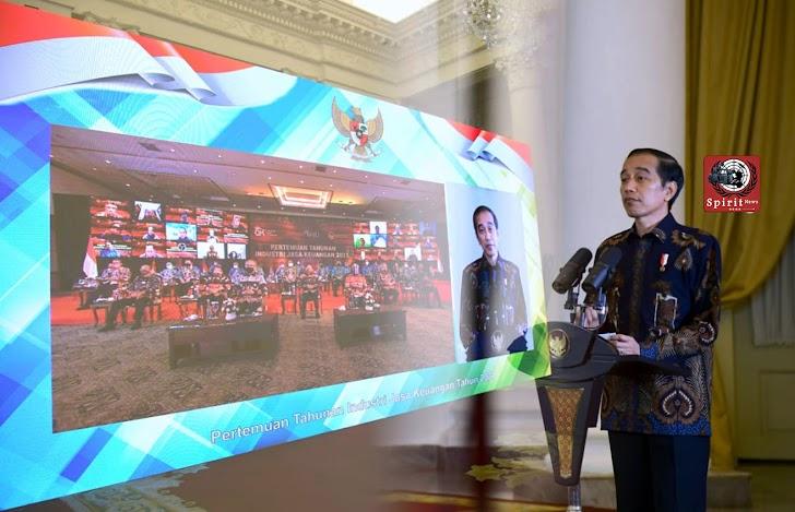 Presiden Jokowi, Minta OJK dan Pelaku Industri Jasa Keuangan Jaga Kepercayaan Pasar dan Masyarakat