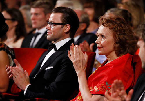 King Carl Gustaf and Queen Silvia attended the Polar Music Prize ceremony at the Concert Hall in Stockholm