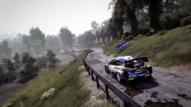 Imagem do WRC 10 FIA World Rally Championship