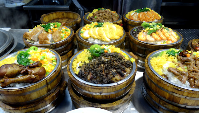 Xiamen set meals with rice