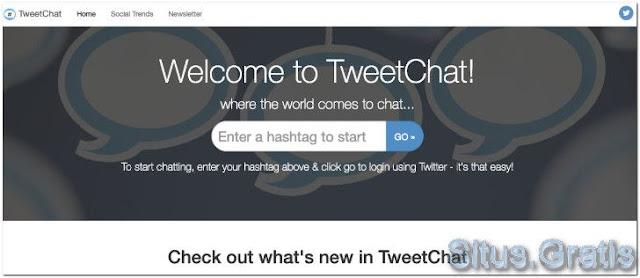 TweetChat untuk mengikuti obrolan Twitter