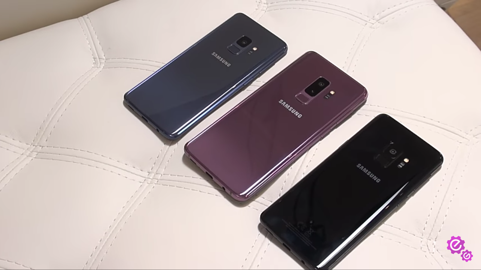 Samsung galaxy s9 and s9+ three colors