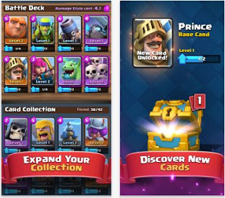 Cara cepat naik level game clash royale