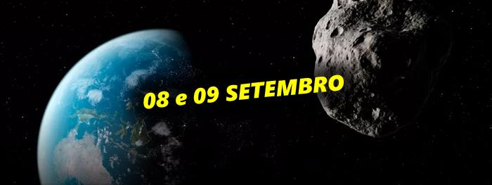 3 asteroides recém descobertos