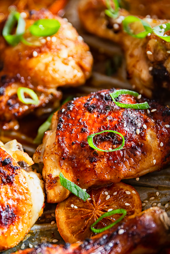 Oven Baked Honey Soy Chicken