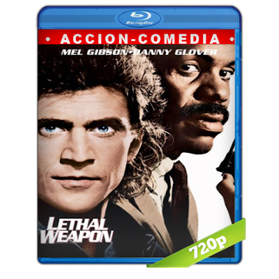 Arma Mortal (1987) BRRip 720p Audio Trial Latino-Castellano-Ingles 5.1
