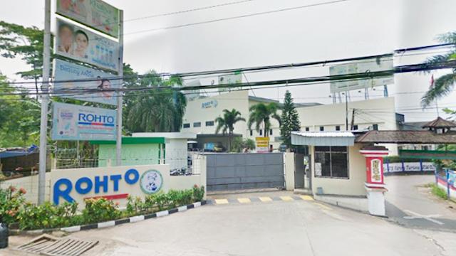 Lowongan Kerja PT Rohto Laboratories Indonesia Penempatan Tangerang