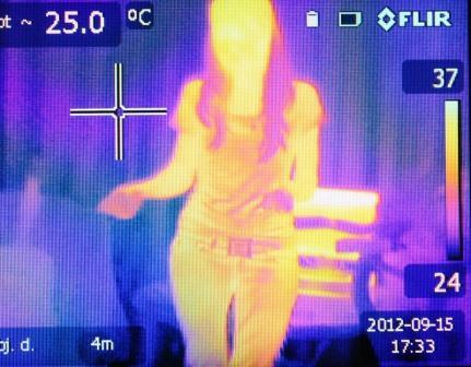 sensor panas memanfaatkan inframerah