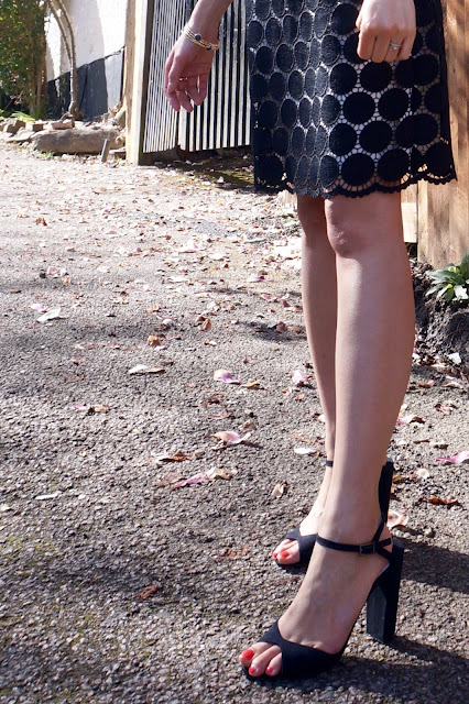 black block heels