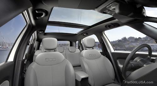 Fiat 500L USA Interior