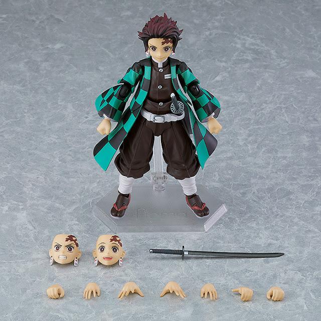 Figuras: Figma Tanjiro Kamado normal y DX Version de Demon Slayer: Kimetsu no Yaiba - Max Factory