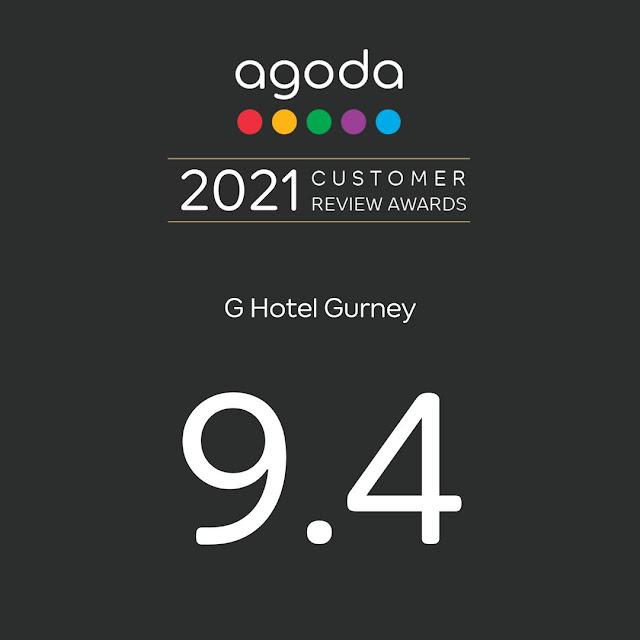G Hotel Gurney Wins Agoda's 2021 Customer Review Award Penang Hotel Penang Malaysia Blogger Blog