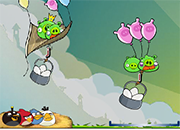 Angry Birds Shoot Letters