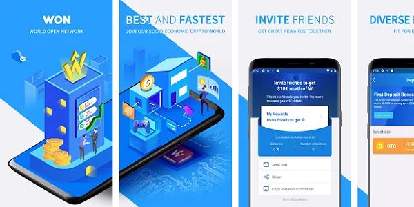 Cara Mendapatkan Bitcoin Gratis Terbaru dari Aplikasi WON Android