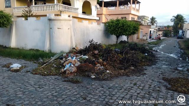 Denuncia confirmada, muito Lixo na Cidade Nova