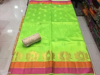 Custom Tussar Silk Sarees with blouse piece | COD available