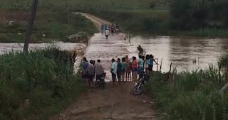Após seca de quase 10 anos, rio da zona rural de Cuité registra cheia