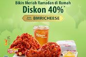 Promo Richeese Factory Siap Antar Ramadhan Diskon 40%