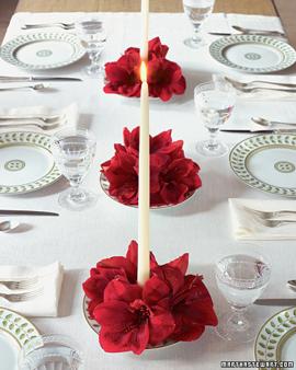 idéias de mesa de natal decoradas
