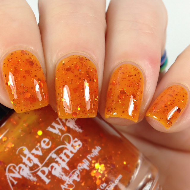 Native War Paints-The Big Orange Splot