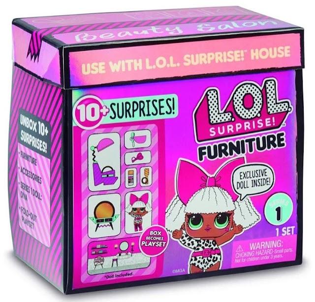 Стильная мебель для кукол Лол: L.O.L. Surprise Furniture