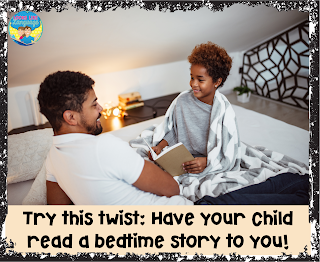 Try having your child read to you!