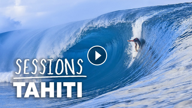 Jack Robinson And The World Tour Elite Join Teahupo o s Local Surfers In Huge Teahupo o Sessions