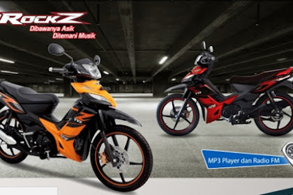Pilihan Motor Bebek untuk Touring, TVS Rockz 125