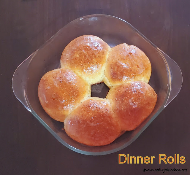 images of Easy No Knead Dinner Rolls / Dinner Rolls / Soft Dinner Rolls Recipe / Easy Homemade Dinner Rolls
