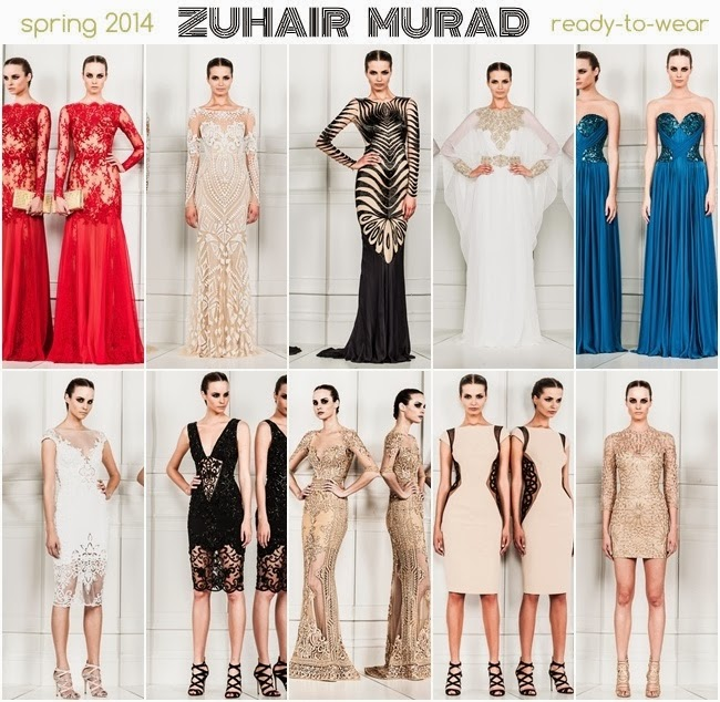 Zuhair Murad spring 2014 ready to wear dresses