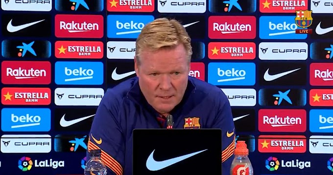 Barcelona manager Koeman has refused to rule out the arrival of either 'Lautaro or Depay.