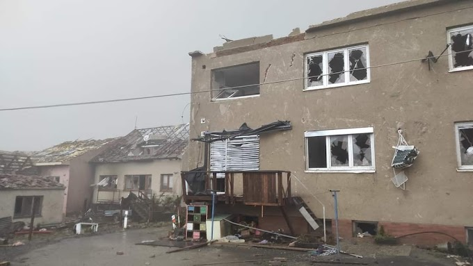 Tornádó csapott le Csehországra, legalább 150 ember megsérült, hatalmasak a károk