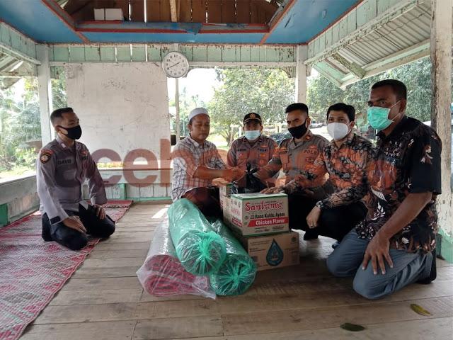 Perkuat Hubungan Polisi dengan Ulama, Polsek Nisam Silaturahmi ke Dayah Darul Ulum Paloh Kaye Kunyet