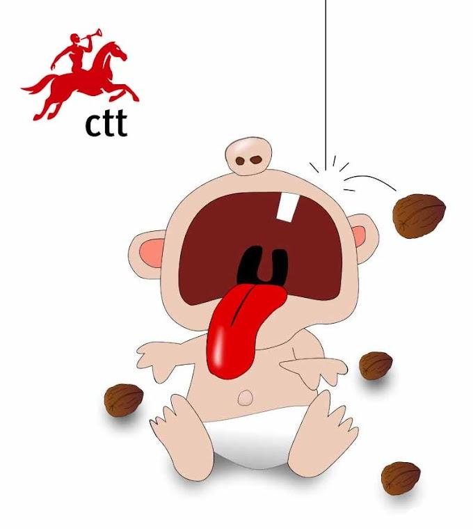 CTT: Deus dá nozes a quem não tem dentes